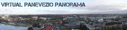 Virtual Panevezio panorama