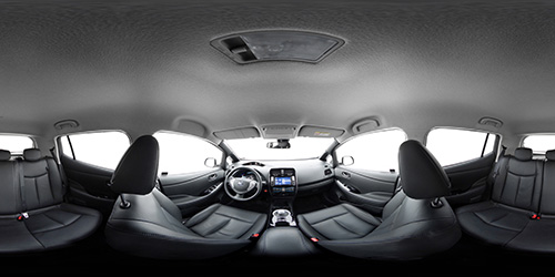 Nissan Leaf virtual tour